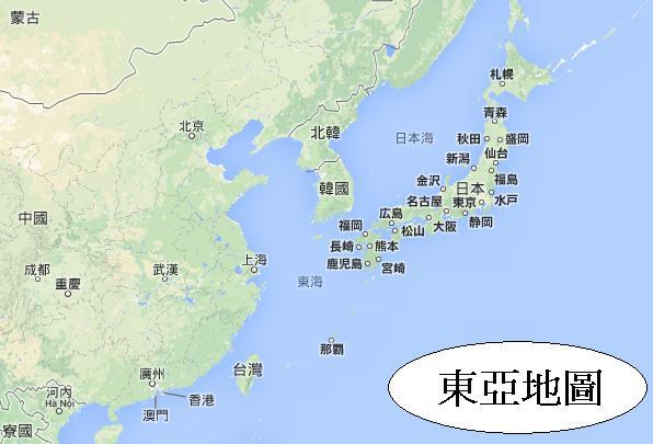 你了解日本的地理位置及氣候嗎?01